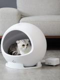 ペットキット スマート・ペットハウス・コージー2 猫クーラー 使用例