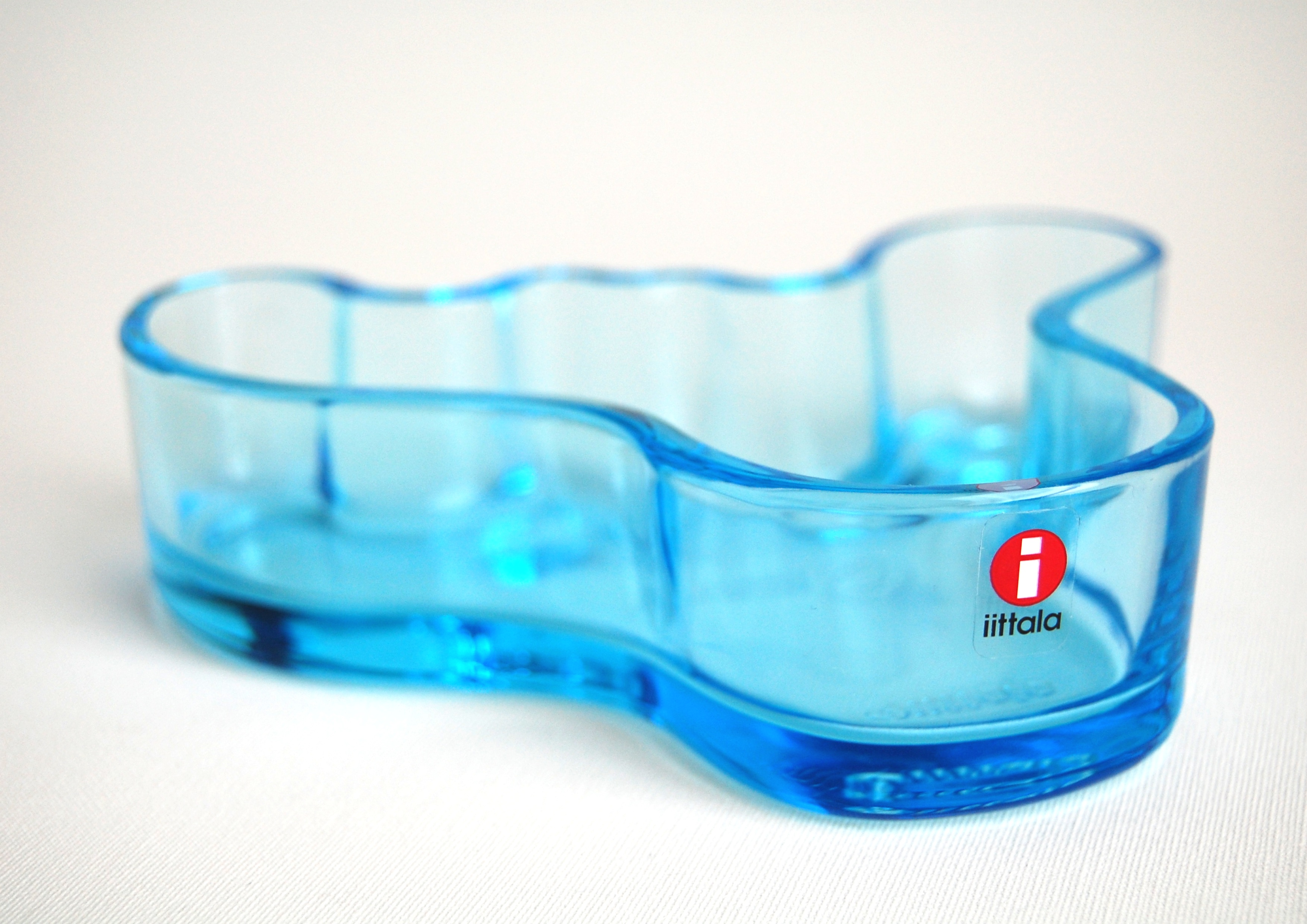 Iittala/イッタラ 13.8cm Aalto Collection/アアルトコレクション ターコイズブルー(箱付き) 001