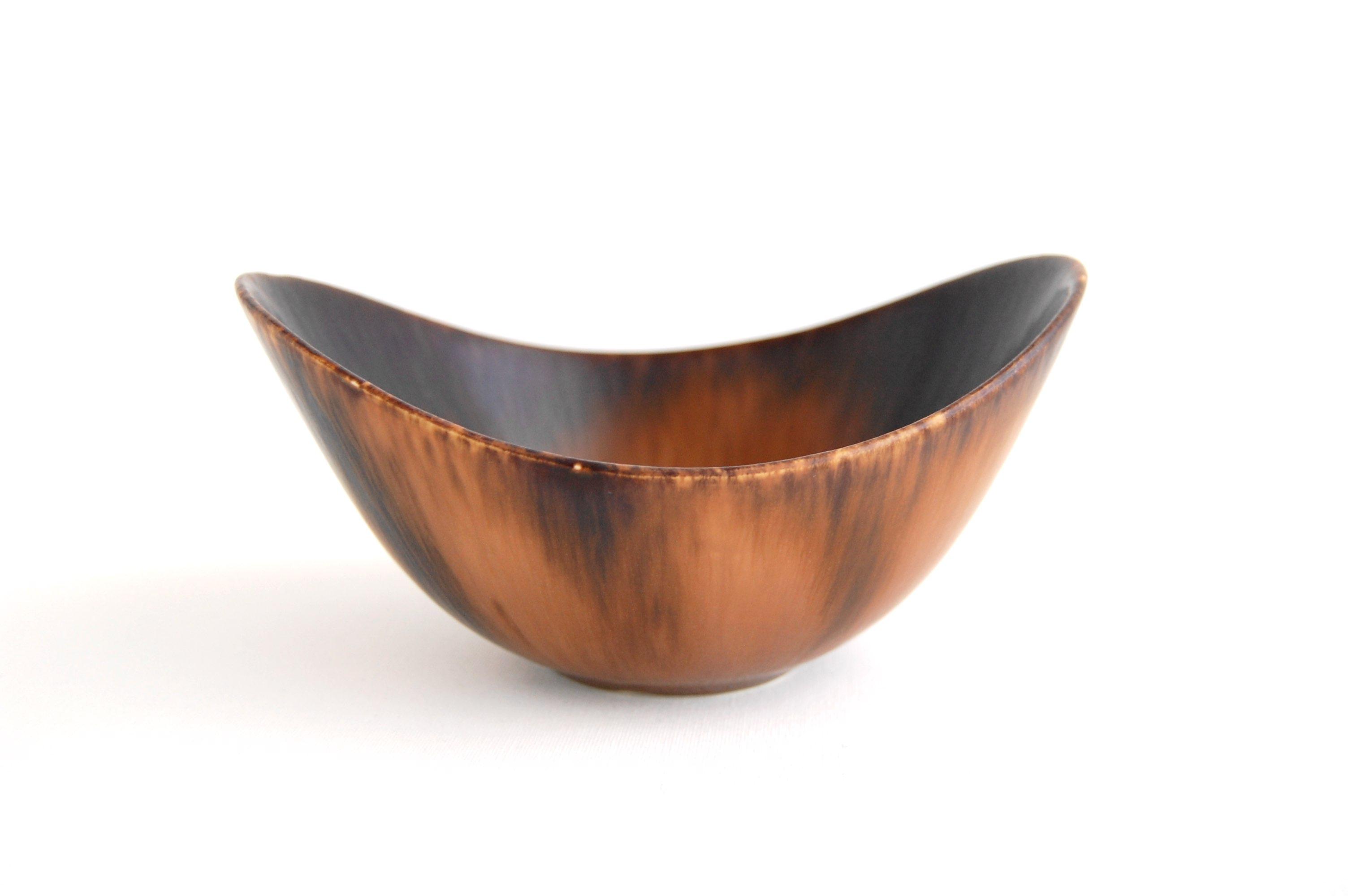 Rorstrand/ロールストランド Gunnar Nylund/グンナー・ニールンド ARO bowl 16cm ブラウン 001