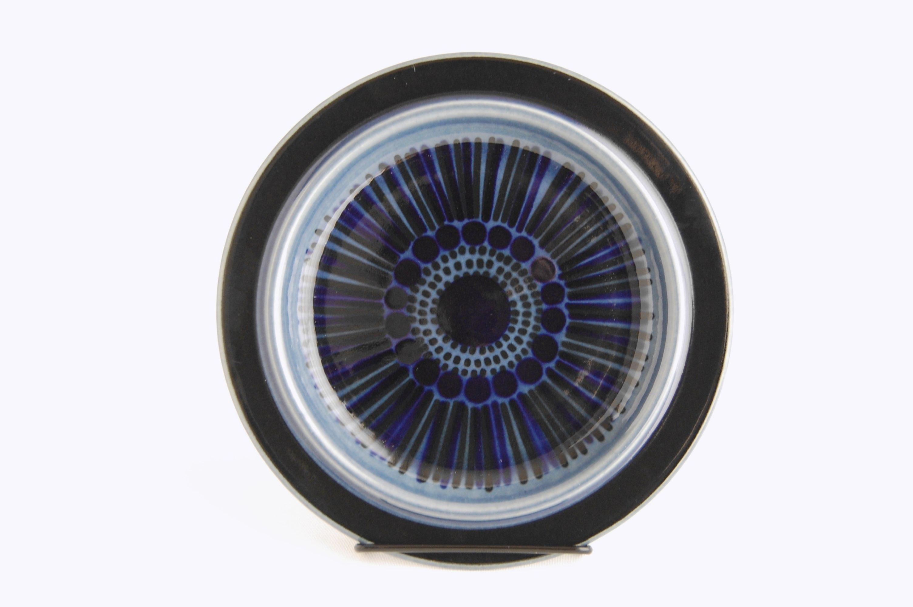 ARABIA/アラビア Kosmos/コスモス(ブルー) 20cmプレート 002