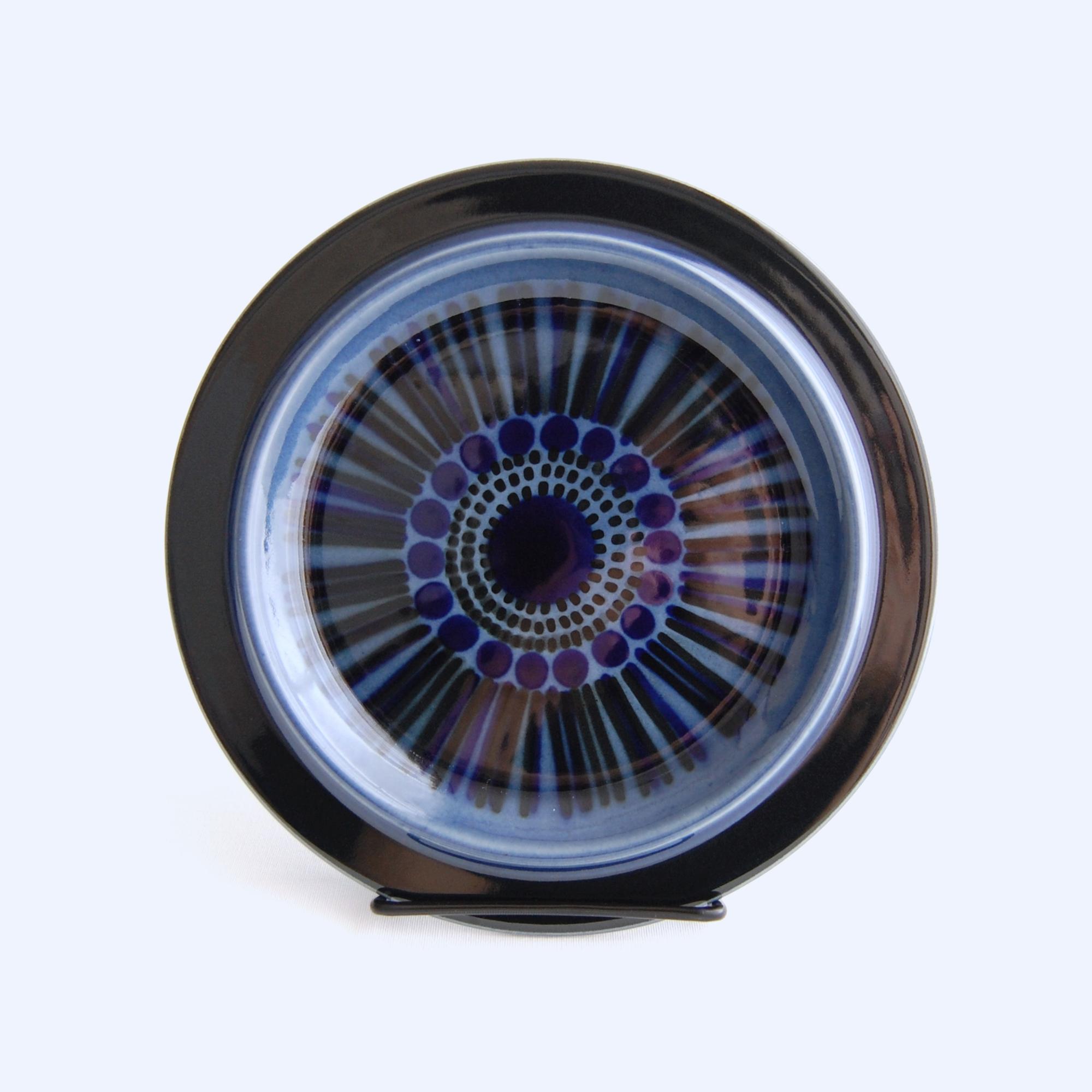ARABIA/アラビア Kosmos/コスモス(ブルー) 20cmプレート 04