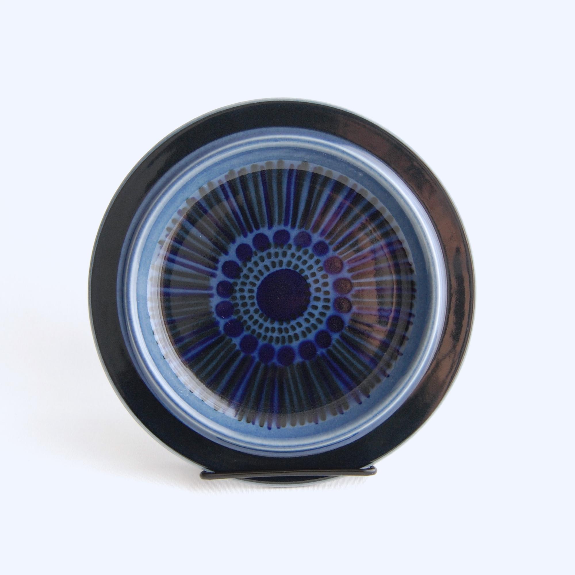 ARABIA/アラビア Kosmos/コスモス(ブルー) 20cmプレート 09