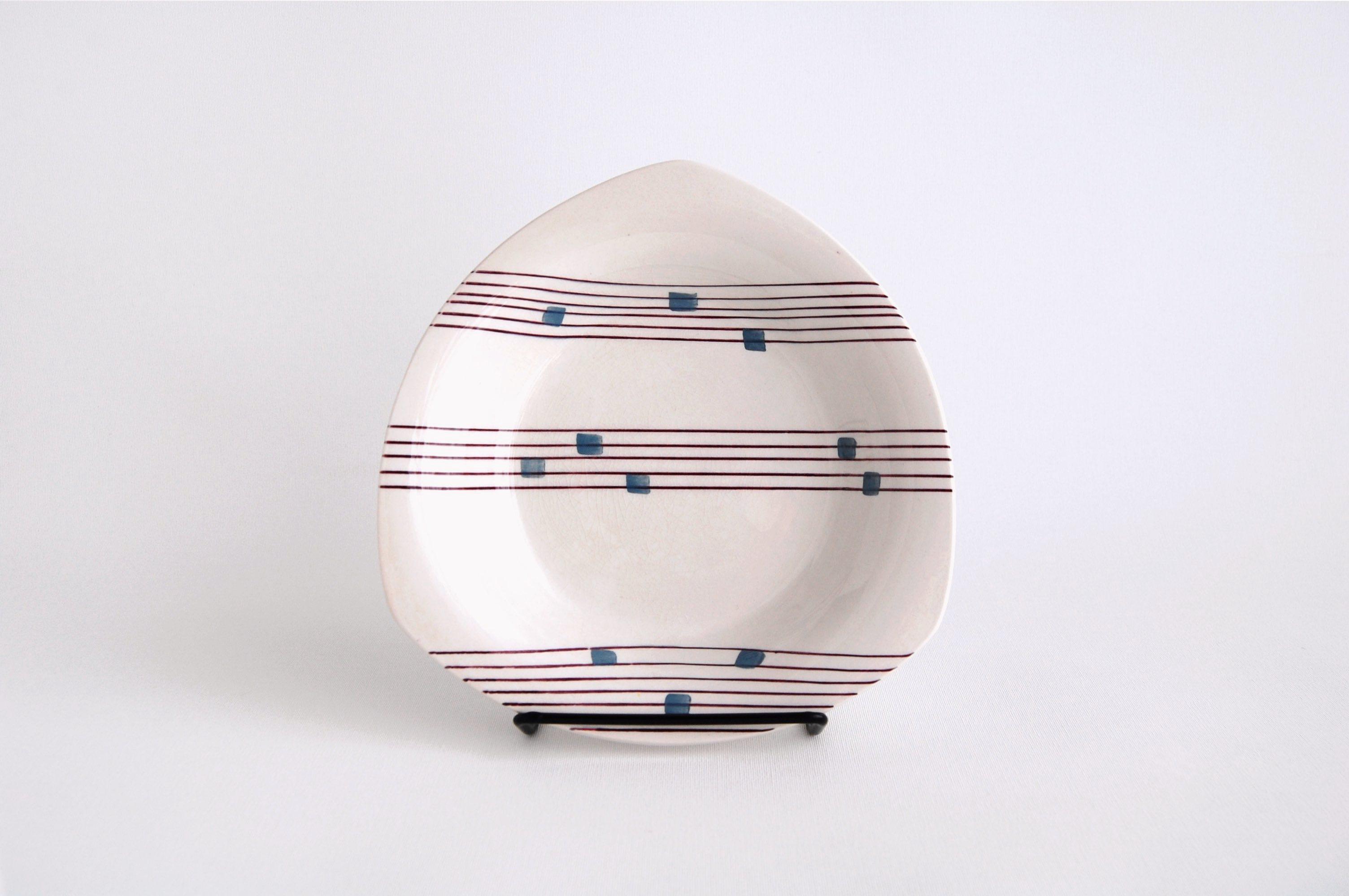 Gefle/ゲフレ Cello/チェロ 17cmプレート 001