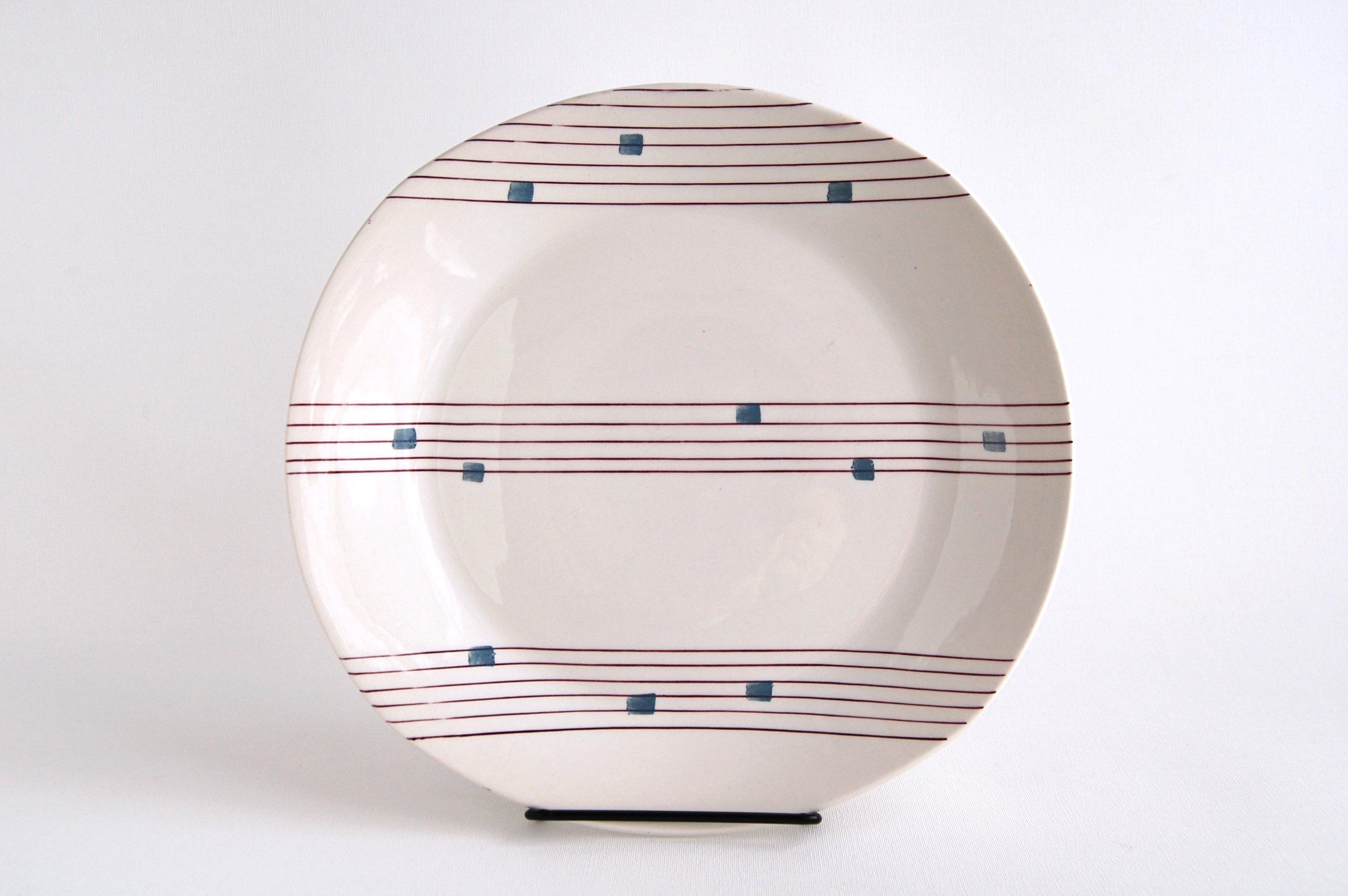Gefle/ゲフレ Cello/チェロ 25cmプレート 001
