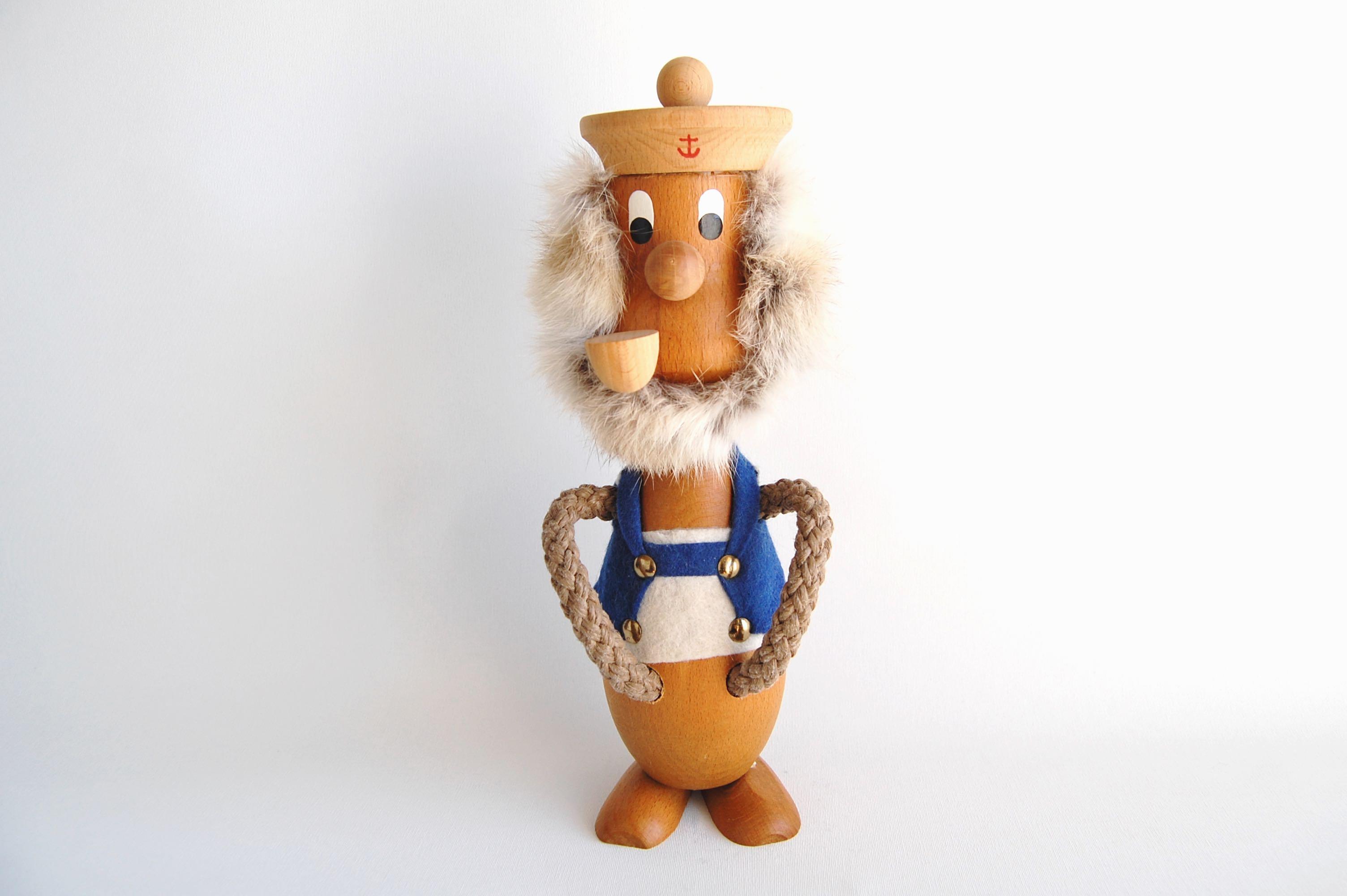 木製人形/船乗り1 (Denmark)