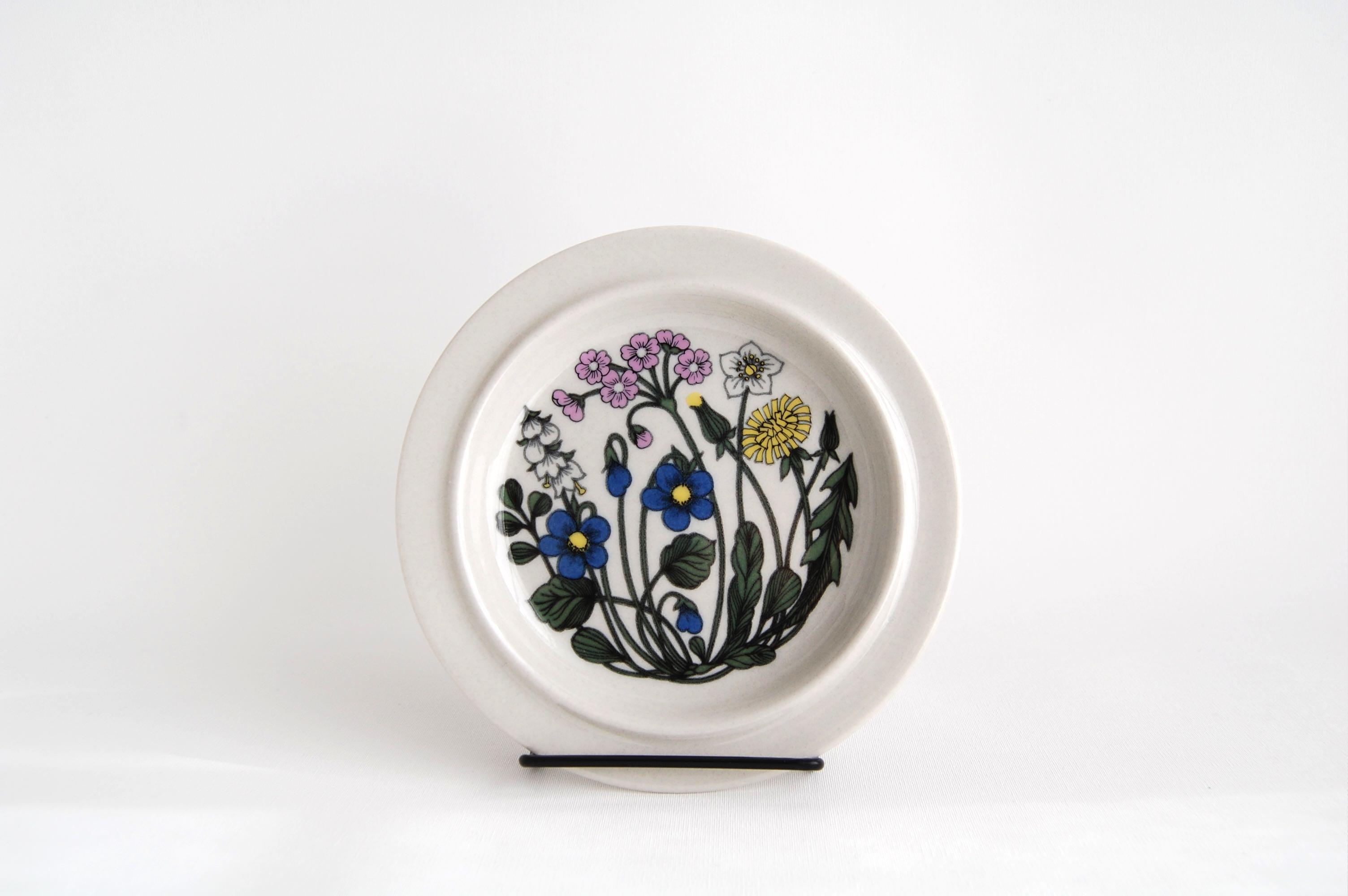 ARABIA/アラビア Flora/フローラ 17.5cmプレート 002
