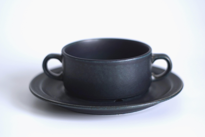 ARABIA/アラビア Korpi/コルピ スープカップ&ソーサー 02