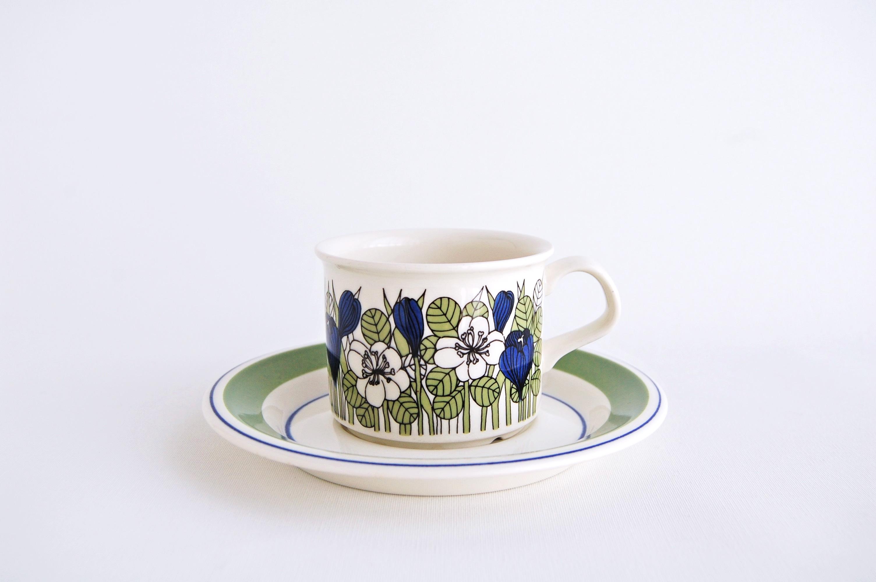 ARABIA/アラビア Krokus/クロッカス(カラー)コーヒーカップ&ソーサー 003
