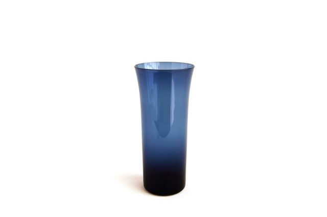 Nuutajarvi/ヌータヤルヴィ Kaj Franck/カイ・フランク KF1725 Trumpetti/トランペッティ タンブラー/グラス ブルー 001
