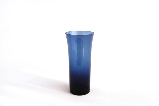 Nuutajarvi/ヌータヤルヴィ Kaj Franck/カイ・フランク KF1725 Trumpetti/トランペッティ タンブラー/グラス ブルー 002