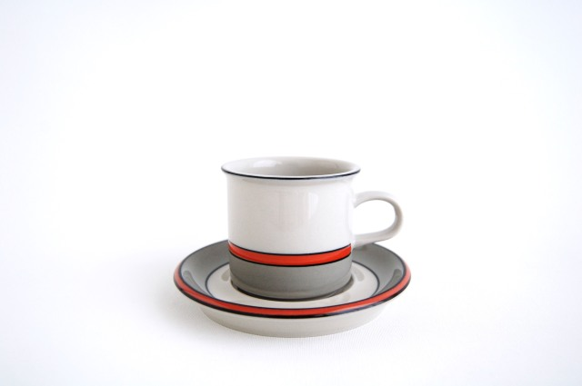 ARABIA/アラビア Aslak/アスラク コーヒーカップ&ソーサー(ショートサイズ) 001