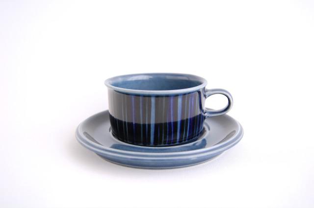 ARABIA/アラビア Kosmos/コスモス(ブルー) ティーカップ&ソーサー 002