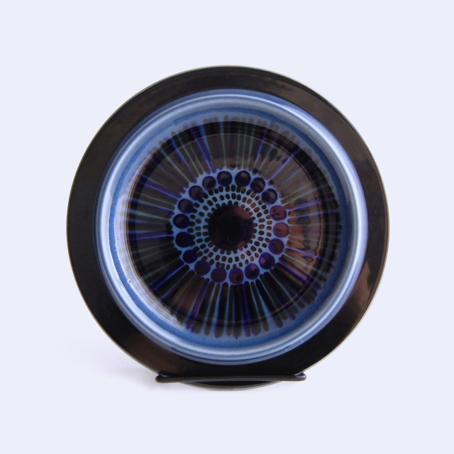 ARABIA/アラビア Kosmos/コスモス(ブルー) 20cmプレート 03