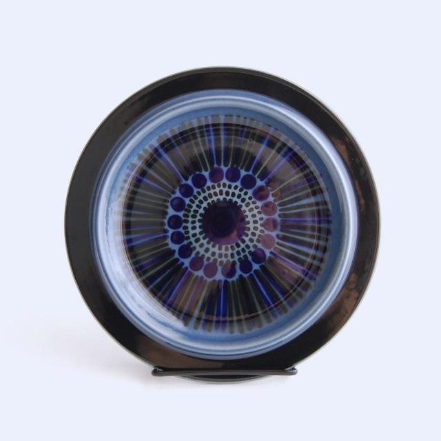 ARABIA/アラビア Kosmos/コスモス(ブルー) 20cmプレート 06