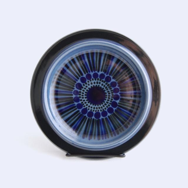 ARABIA/アラビア Kosmos/コスモス(ブルー) 20cmプレート 07