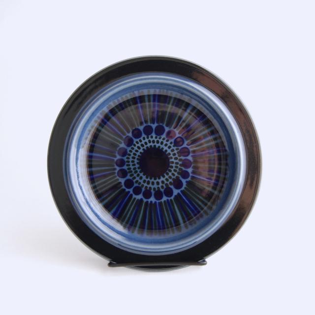 ARABIA/アラビア Kosmos/コスモス(ブルー) 20cmプレート 08