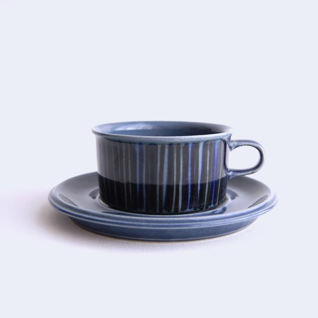 ARABIA/アラビア Kosmos/コスモス(ブルー) ティーカップ&ソーサー 003