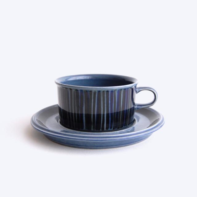 ARABIA/アラビア Kosmos/コスモス(ブルー) ティーカップ&ソーサー 007