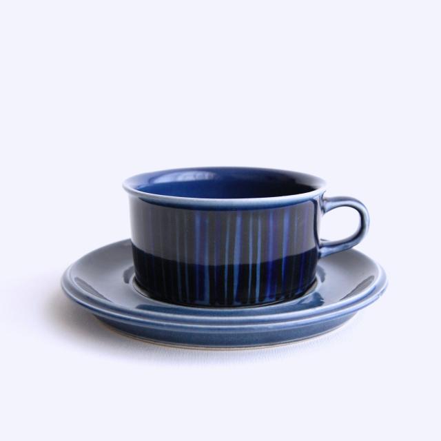 ARABIA/アラビア Kosmos/コスモス(ブルー) ティーカップ&ソーサー 009