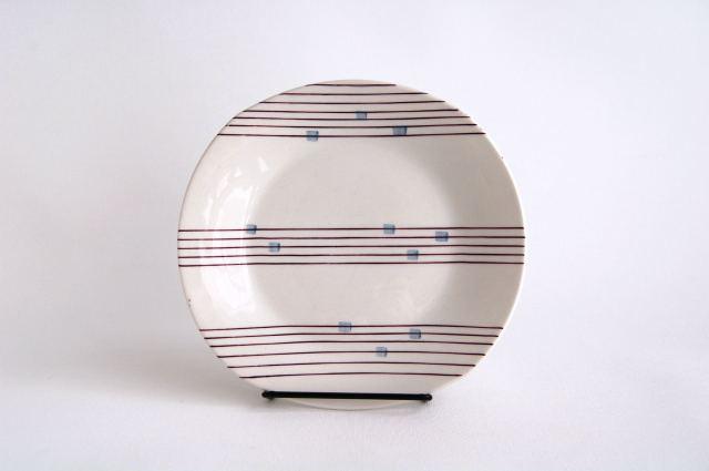 【アウトレット】Gefle/ゲフレ Cello/チェロ 19cmプレート 003