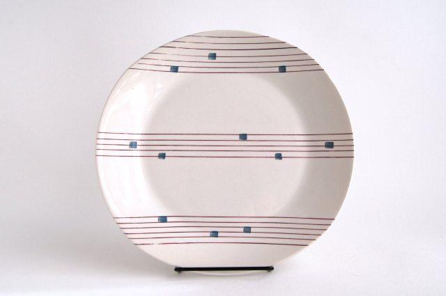 Gefle/ゲフレ Cello/チェロ 25cmプレート 003