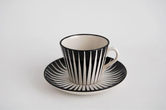 Gefle/ゲフレ Zebra/ゼブラ コーヒーカップ&ソーサー 001