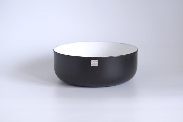 ARABIA/アラビア・FINEL/フィネル ホーローボウル マットブラック 20cm