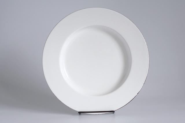 FINEL/フィネル エナメルプレート 27cm ホワイト 01