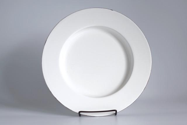 FINEL/フィネル エナメルプレート 27cm ホワイト 02