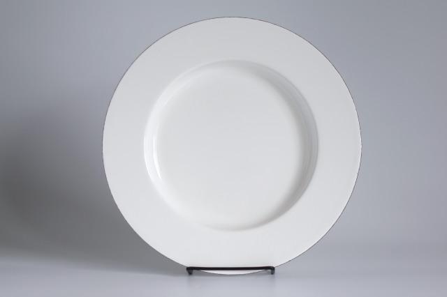FINEL/フィネル エナメルプレート 27cm ホワイト 06
