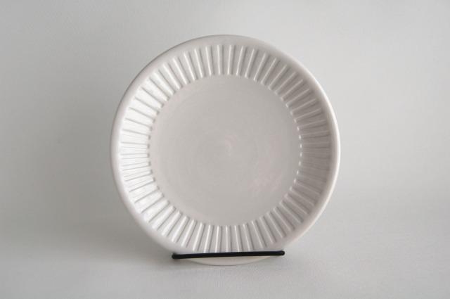 Gefle/ゲフレ ホワイトの19cmプレート 001