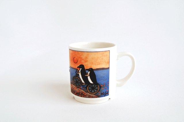 ARABIA/アラビア Helja Liukko Sundstrom/ヘルヤ・リウッコ・スンドストロム マグカップ ペンギン 001