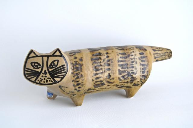 GUSTAVSBERG/グスタフスベリ Lisa Larson/リサ・ラーソン STORA ZOO/大きな動物園シリーズ Katt/ネコ