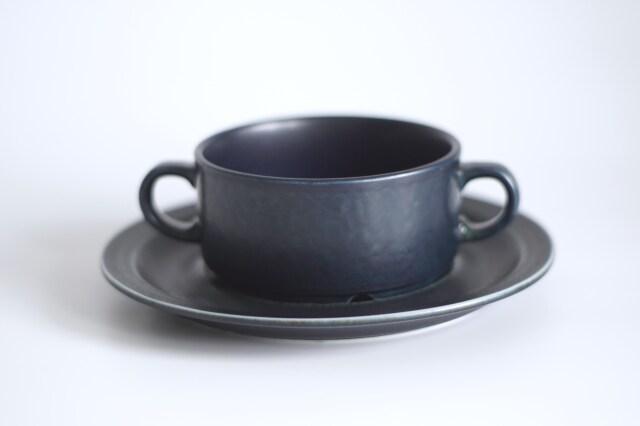 ARABIA/アラビア Korpi/コルピ スープカップ&ソーサー 01