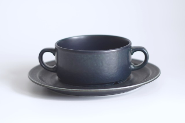 ARABIA/アラビア Korpi/コルピ スープカップ&ソーサー 04
