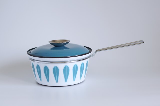 Cathrineholm/キャサリンホルム Lotus/ロータス ホーロー片手鍋 ブルー 18cm
