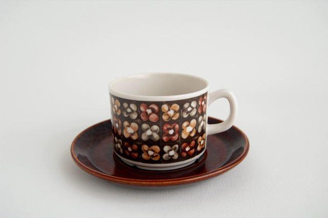 Gefle/ゲフレ Mantilj/マンティリ コーヒーカップ&ソーサー 003