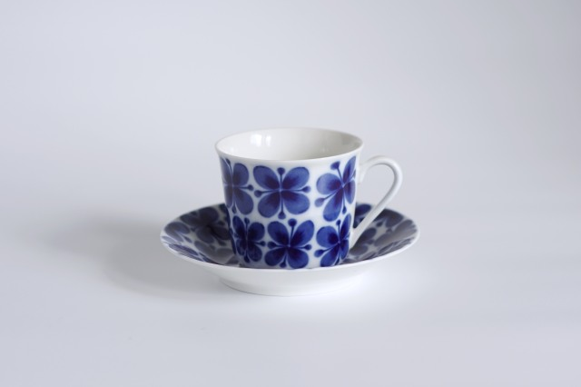 Rorstrand/ロールストランド Mon Amie/モナミ コーヒーカップ&ソーサー BVモデル【複数在庫あり】