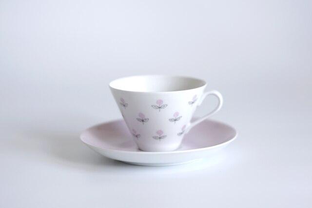ARABIA/アラビア Monica/モニカ コーヒーカップ&ソーサー ピンク 01