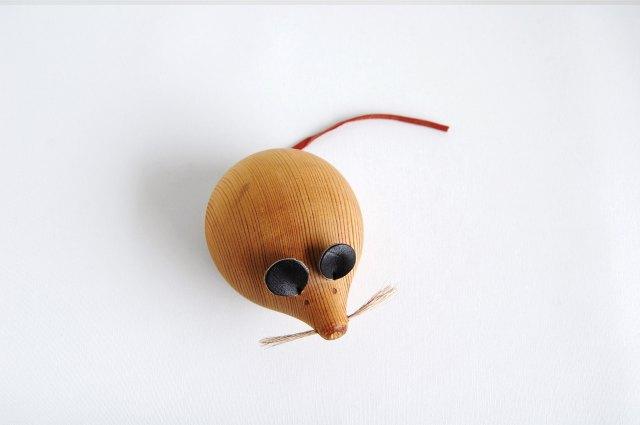aarikka/アーリッカ  木製ネズミ 001