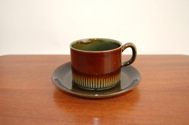 Gefle/ゲフレ Oliv/オリーブ コーヒーカップ&ソーサー 001