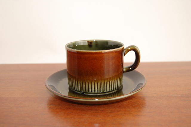 Gefle/ゲフレ Oliv/オリーブ コーヒーカップ&ソーサー 002
