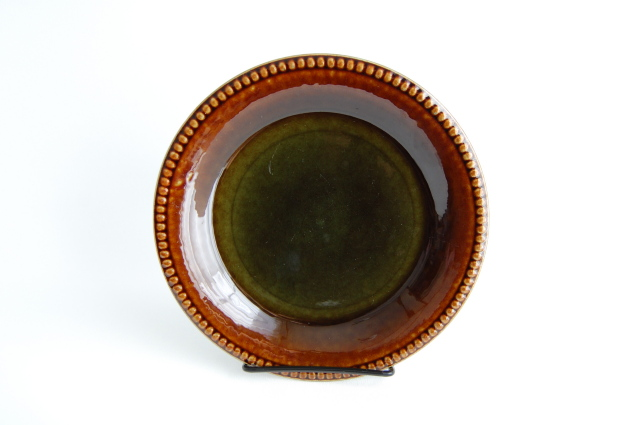 Gefle/ゲフレ Oliv/オリーブ 19cmプレート 002