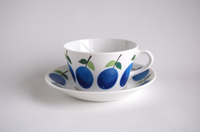 GUSTAVSBERG/グスタフスベリ Prunus/プルーヌス ティーカップ&ソーサー 001