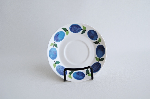 GUSTAVSBERG/グスタフスベリ Prunus/プルーヌス ソーサー(コーヒーカップ用)