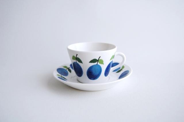 GUSTAVSBERG/グスタフスベリ Prunus/プルーヌス コーヒーカップ&ソーサー 006