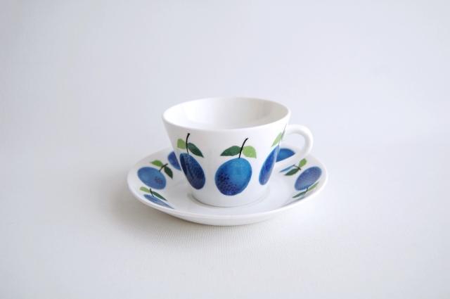 GUSTAVSBERG/グスタフスベリ Prunus/プルーヌス コーヒーカップ&ソーサー 008