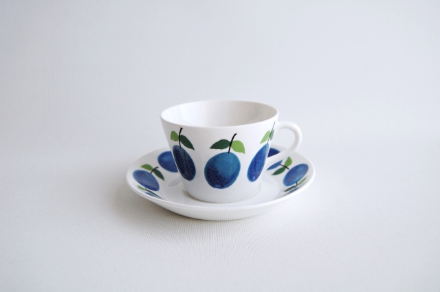 GUSTAVSBERG/グスタフスベリ Prunus/プルーヌス コーヒーカップ&ソーサー 009
