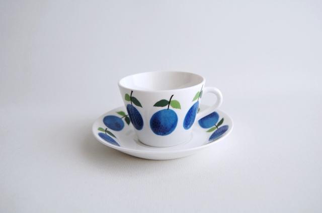 GUSTAVSBERG/グスタフスベリ Prunus/プルーヌス コーヒーカップ&ソーサー 010
