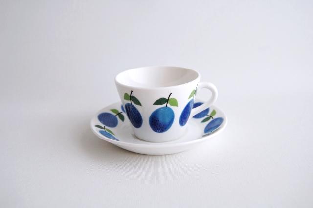 GUSTAVSBERG/グスタフスベリ Prunus/プルーヌス コーヒーカップ&ソーサー 011